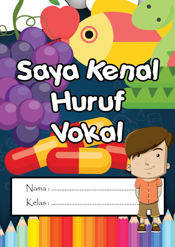 MD-Saya-Kenal-Huruf-Vokal Ebook Latihan Huruf Vokal | Ebook Lembaran Kerja Huruf Vokal