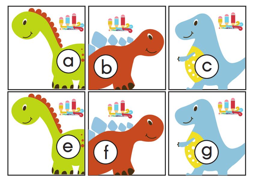 Flash-Kad-Huruf-A-Z-Tema-Dinosour_001 Flash Kad Abjad A Hingga Z Tema Dinosaur