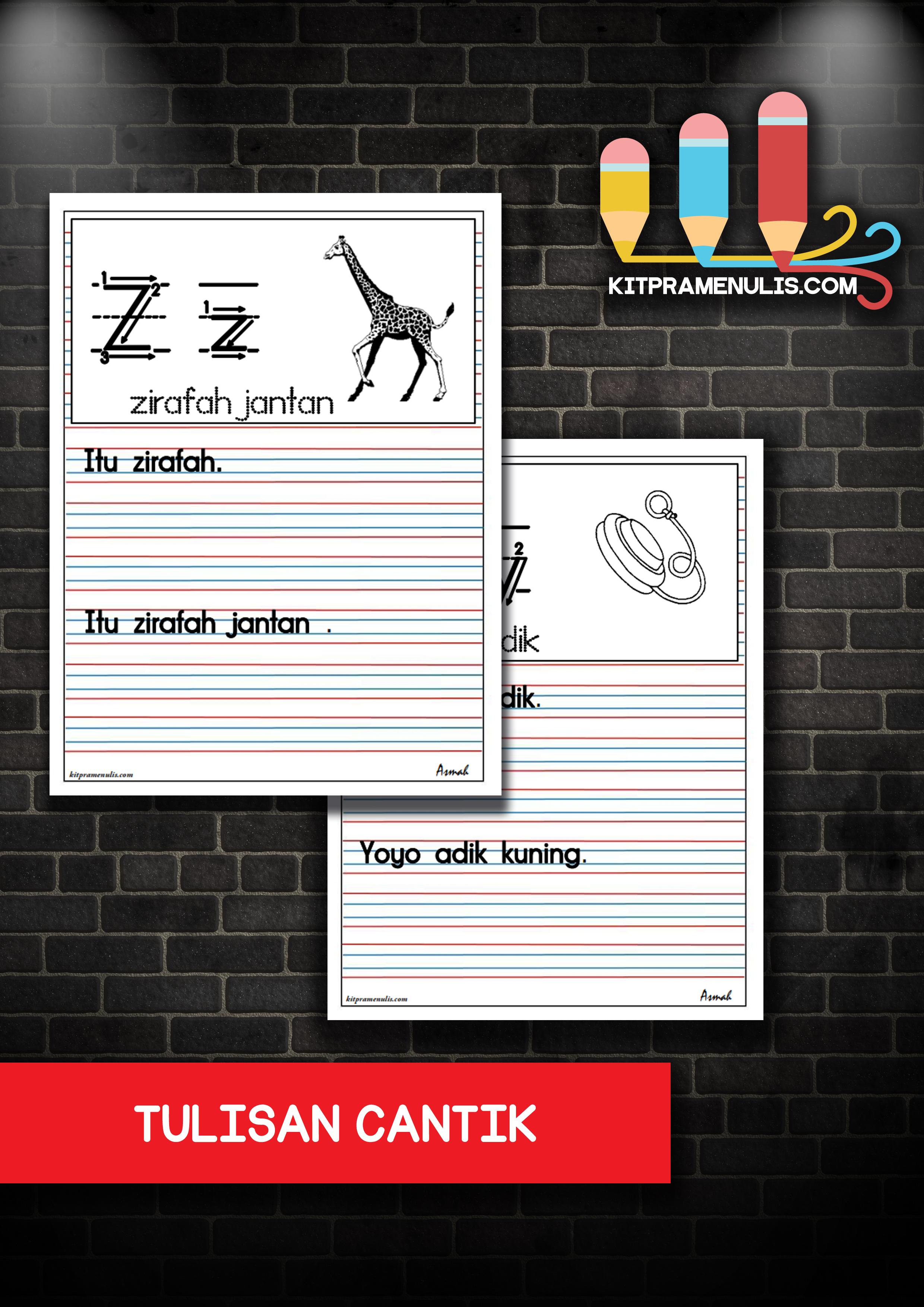 tulisan-cantik Tulisan Cantik | MENULIS DENGAN MENGGUNAKAN GARIS 3