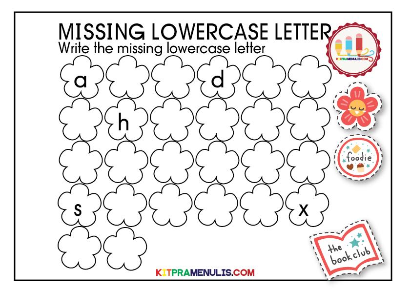 missing-lowercase-letter-01 The Missing Lowercase Letter Worksheet