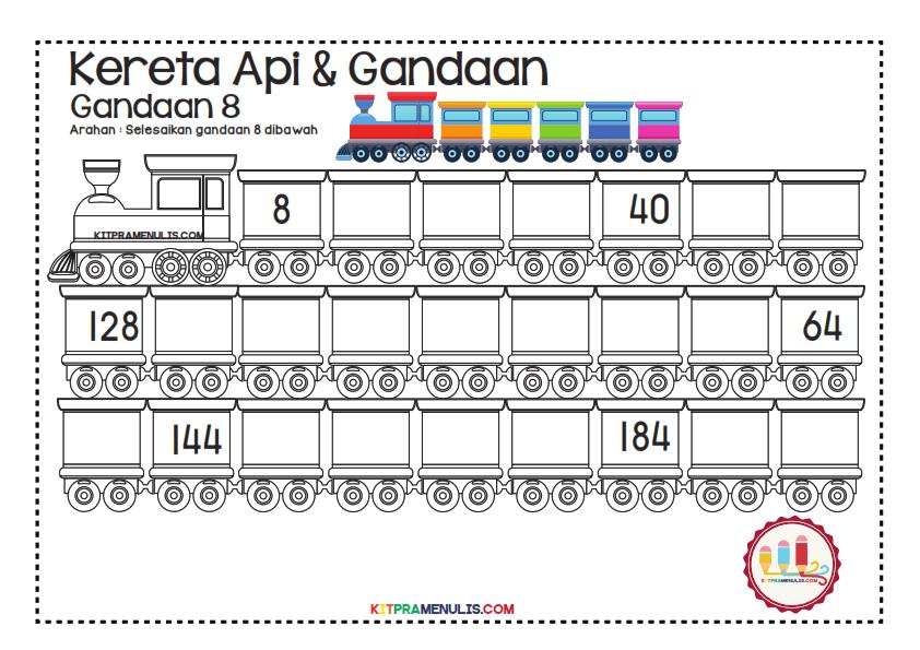 Gandaan-2-90-Tema-Keretapi_007 Lembaran Kerja Gandaan 8