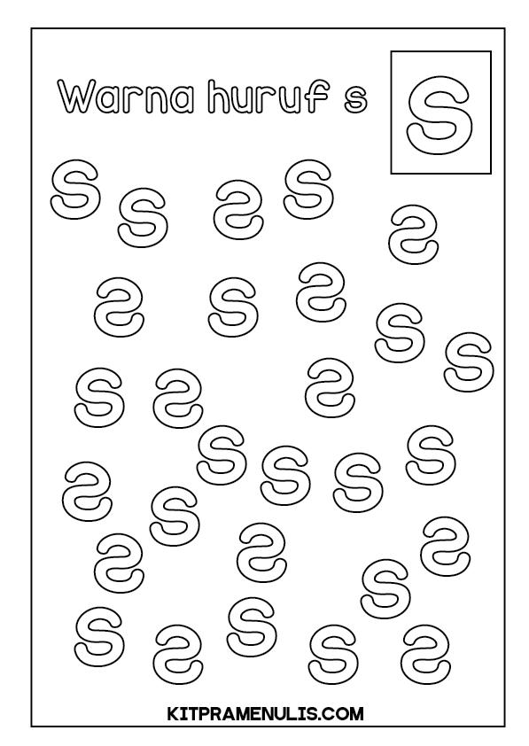 Lembaran-Kerja-Diskriminasi-Huruf-01 Lembaran Kerja Disleksia Diskriminasi Huruf Keliru