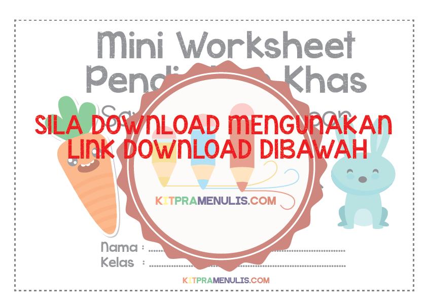 Mini-Worksheet-Pendidikan-Khas-Saya-Kenal-Nombor-1-10-Tema-Arnab-01-1 Mini Worksheet Pendidikan Khas | Saya Kenal Nombor Hingga 10
