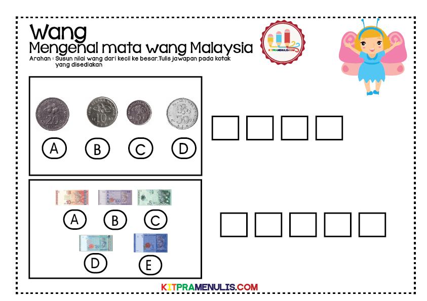 lembaran-kerja-mengenal-wang-09 Lembaran Kerja Mengenal Wang | Susun Nilai Wang
