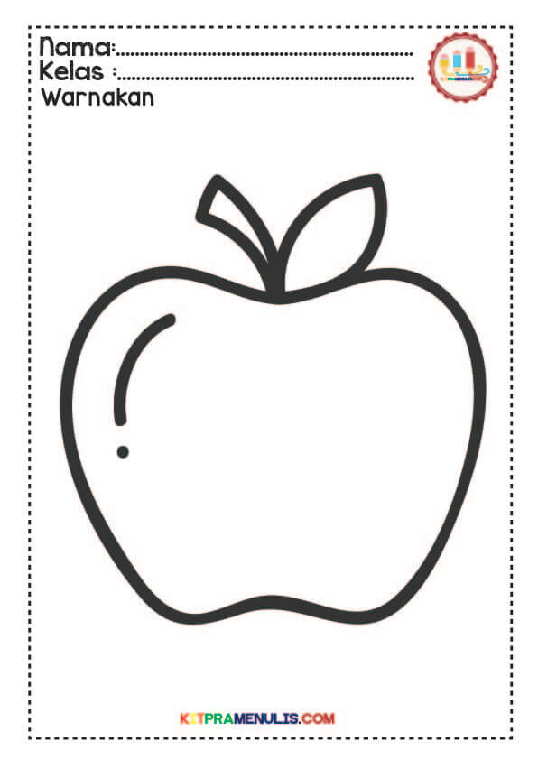 mewarna-gambar-sayur-buah-01 Lembaran Kerja Mewarna Buah-Buahan Dan Sayur-Sayuran