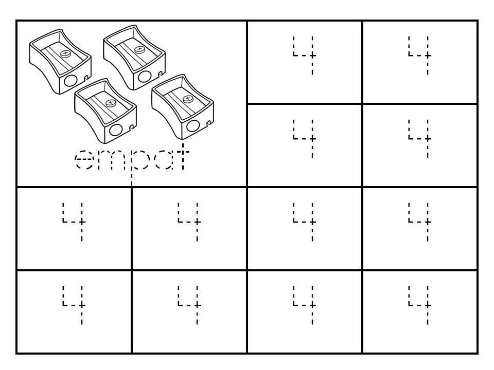 surih-nombor-1-hingga-9 Latihan Surih Nombor | Surih Nombor 1 Hingga 10 Pendidikan Khas