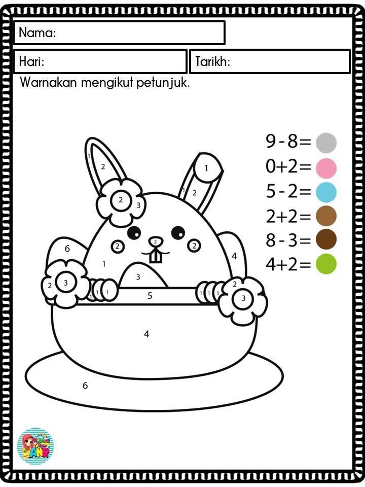 buku mewarna kanak kanak