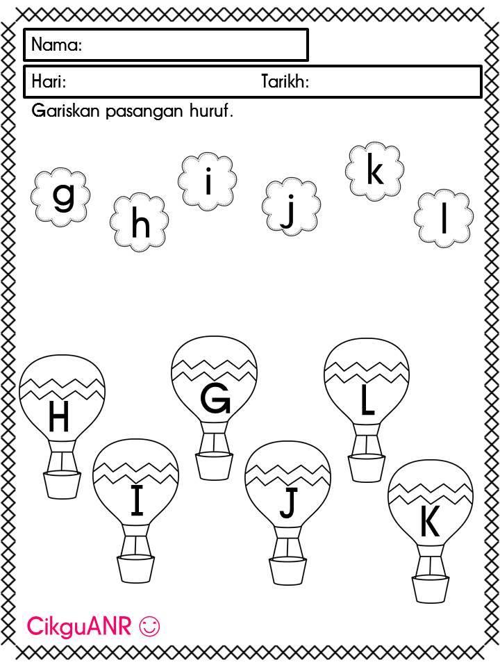 latihan-huruf-besar-a Latihan Menulis Huruf Besar Untuk Murid Prasekolah