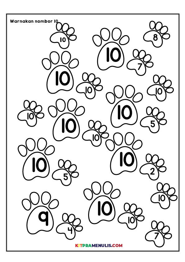 saya-kenal-1-10-01 Saya Kenal Nombor 1 Hingga 10 Untuk Kanak-Kanak Kecil