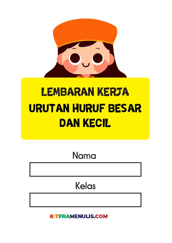 urutan-huruf-besar-dan-kecil-01 Latihan Bahasa Melayu Prasekolah Urutan Huruf Kecil Dan Besar