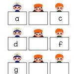 latihan urutan huruf besar dan kecil