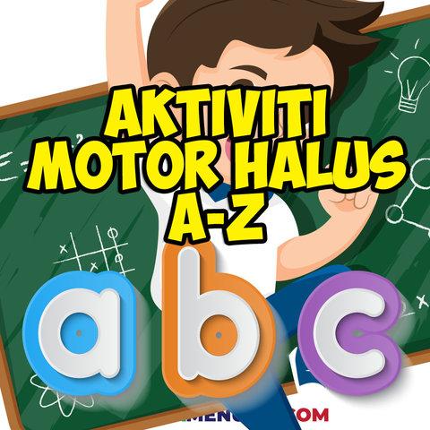 aktiviti motor halus huruf a hingga z pendidikan khas 1