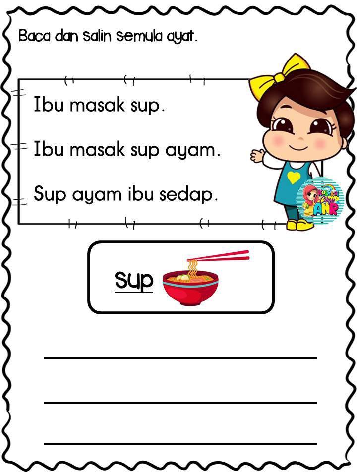 latihan-menulis-dan-membaca Latihan Menulis Dan Membaca Untuk Prasekolah