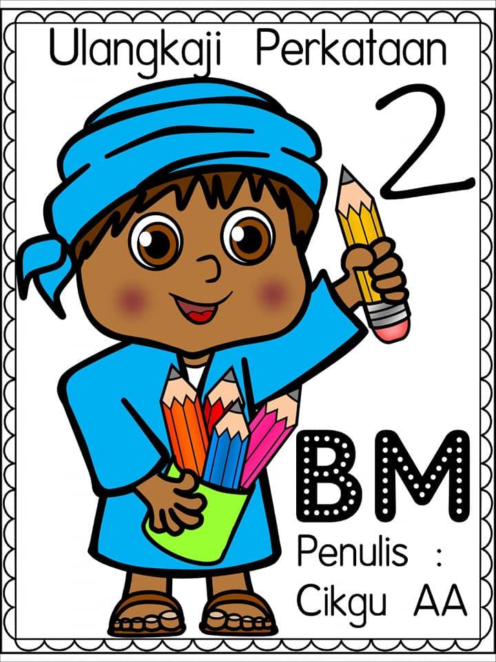 ulangkaji-perkataan-bahasa-melayu-prasekolah Lembaran Kerja Uji Perkataan Bahasa Melayu Prasekolah