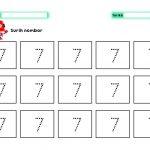 Lembaran Kerja Nombor 1 Hingga 10 Tema Robot