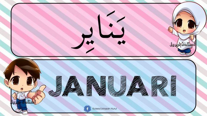 Bulan Dalam Setahun Versi Jawi