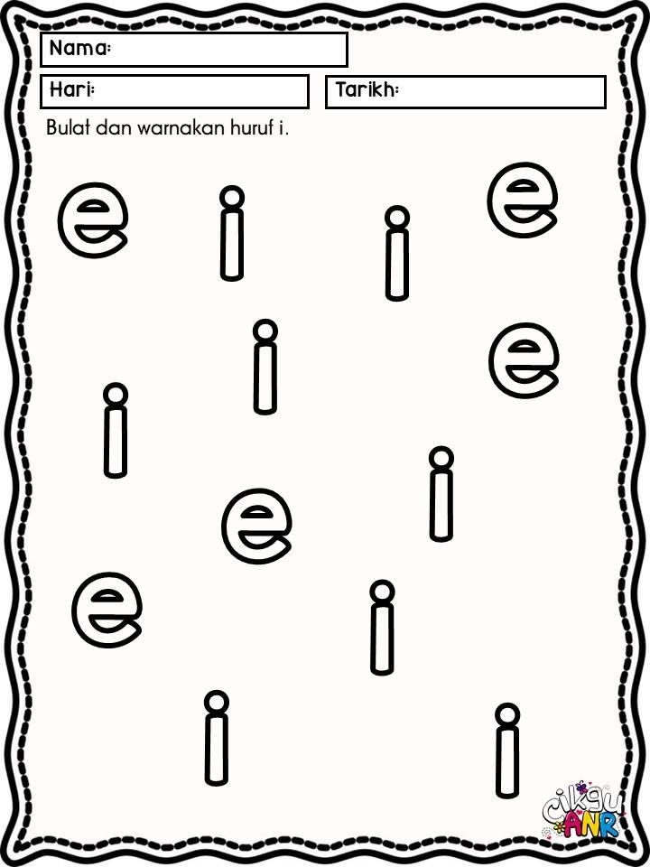huruf-vokal-aeiou-prasekolah-pendidikan-khas Latihan Kenali Huruf Vokal AEIOU Untuk PPKI Dan Prasekolah