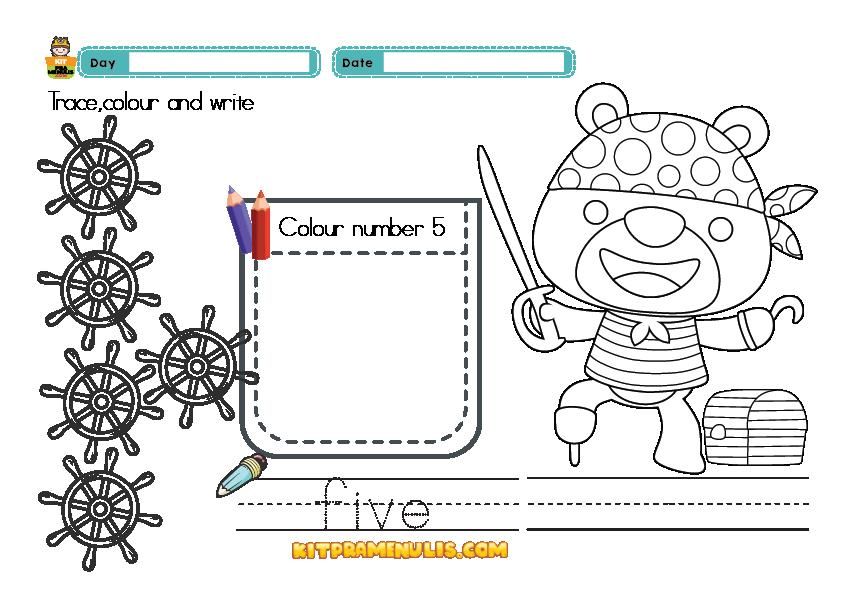 preschool-mathematic-worrksheet-one-to-ten-01 Mathematic Preschool Worksheet One To Ten For Kids Too
