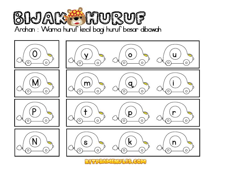 latihan-huruf-kecil-dan-huruf-besar-ppki-01 Lembaran Kerja Huruf Kecil Dan Huruf Besar Untuk PPKI Dan Prasekolah