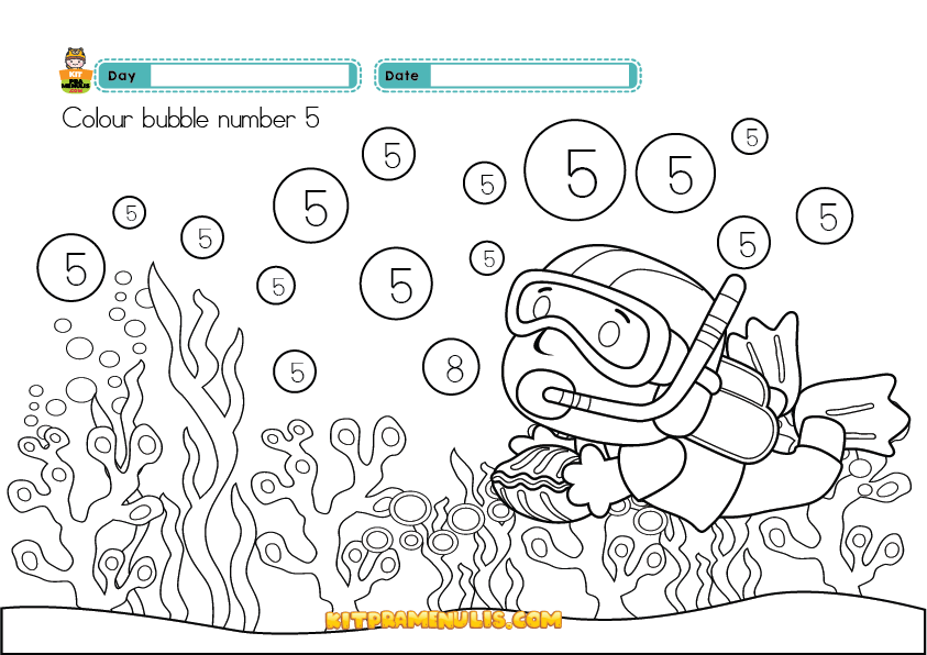 mathematic-preschool-worksheet-one-to-ten-01 Cik Man And 123 Mathematic Worksheet Preschool