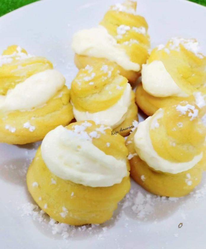resepi cream puff 2