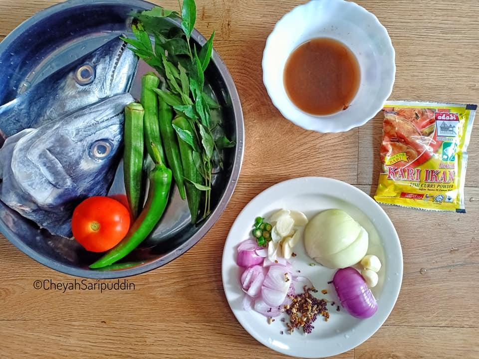 resepi-kari-kepala-ikan-tenggiri-tanpa-santan-style-mamak-3 Resepi Kari Kepala Ikan Tenggiri Tanpa Santan Style Mamak Rugi Tak Cuba