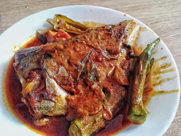 resepi kari kepala ikan tenggiri tanpa santan style mamak 2