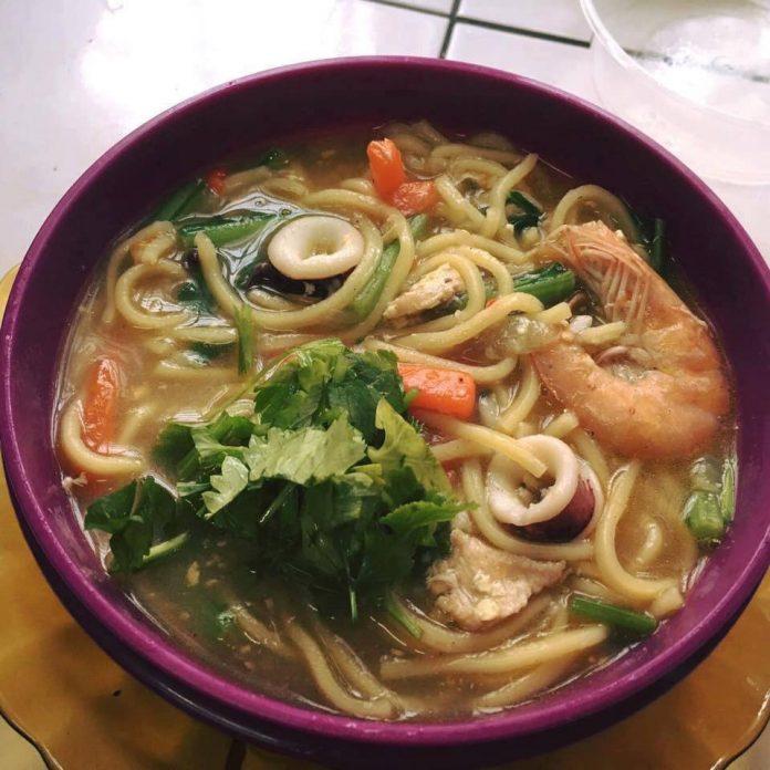 resepi mee sup 1