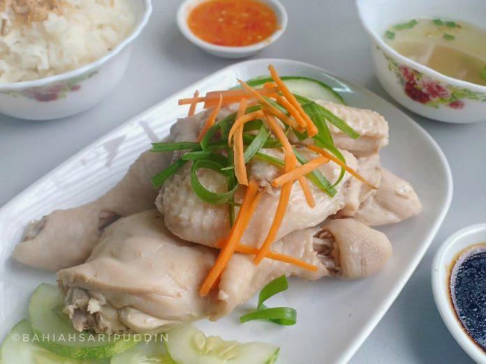 resepi nasi ayam hainan 13