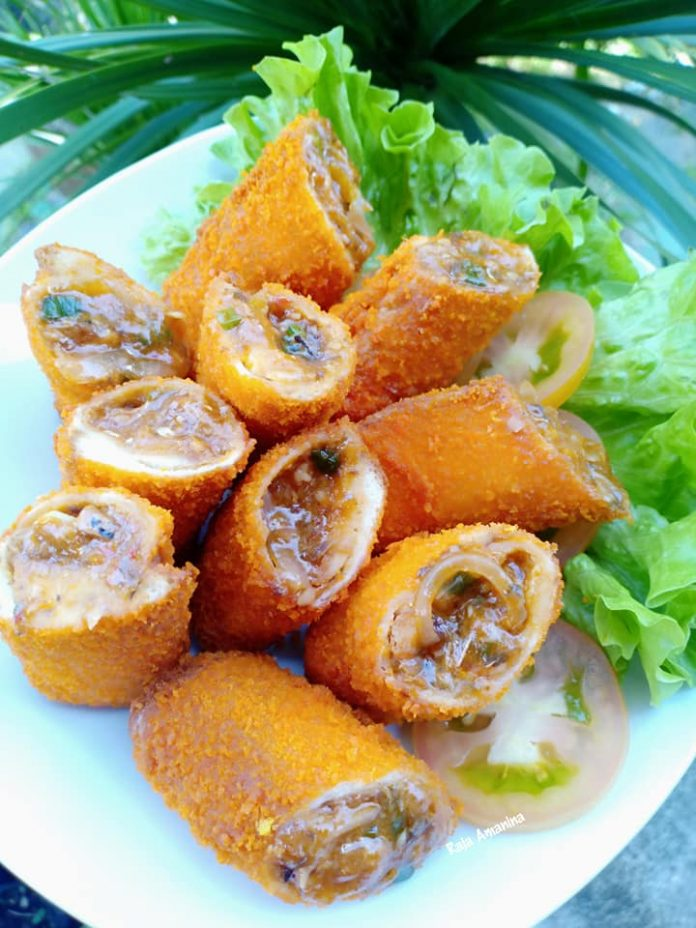 resepi roti sardin gulung 1