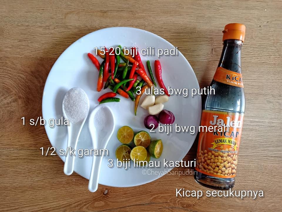 resepi-sambal-kicap-sedap-10 Resepi Sambal Kicap Sedap Untuk Dibuat Stok. Umphh Memang Padu Bohh.