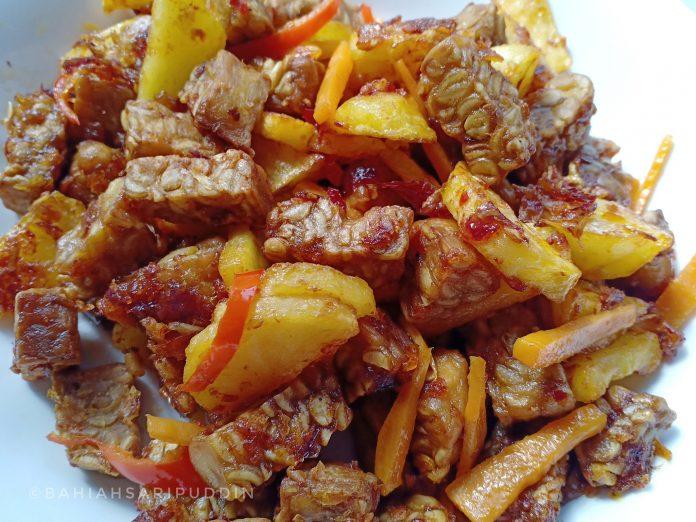 resepi sambal tempe 5
