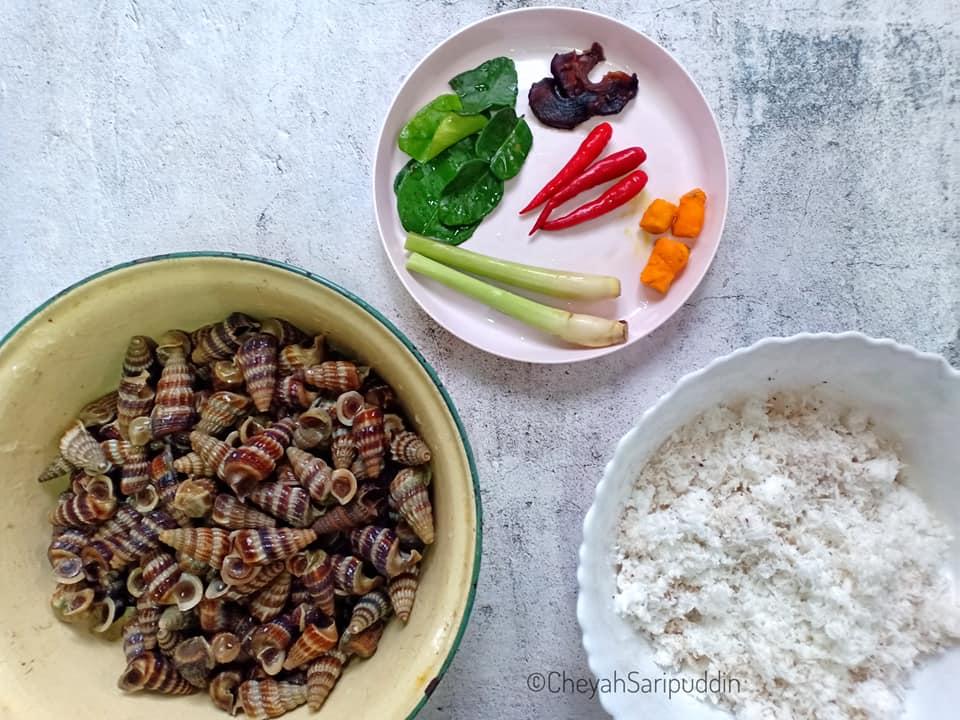 resepi-siput-sedut-masak-lemak-cili-padi-2 Resepi Siput Sedut Masak Lemak Cili Padi Simple Kuah Kaww