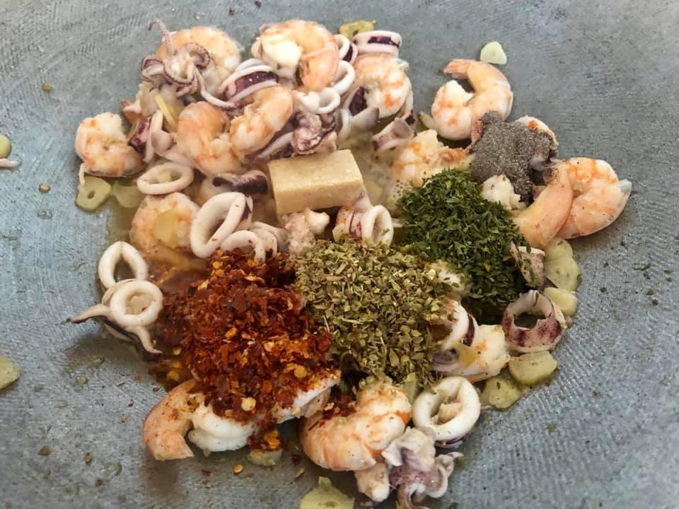 resepi spagetti aglio oglio
