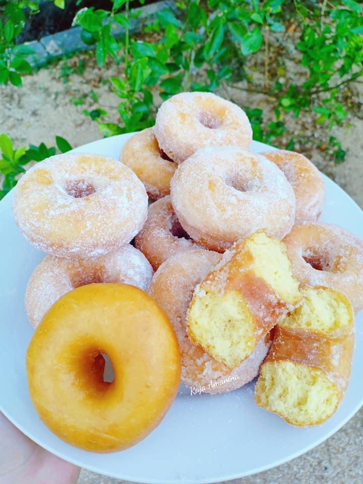 resepi-donut-gebu-gebas-1 Resepi Donut Gebu Gebas dan Sedap Khas Buat Santapan Seisi Keluarga.
