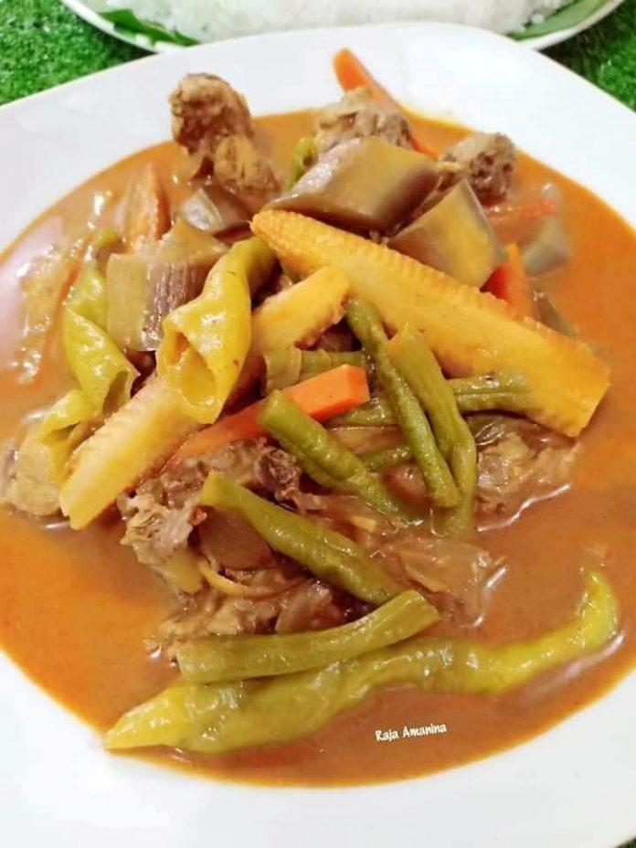 resepi gulai ala kak wok 1