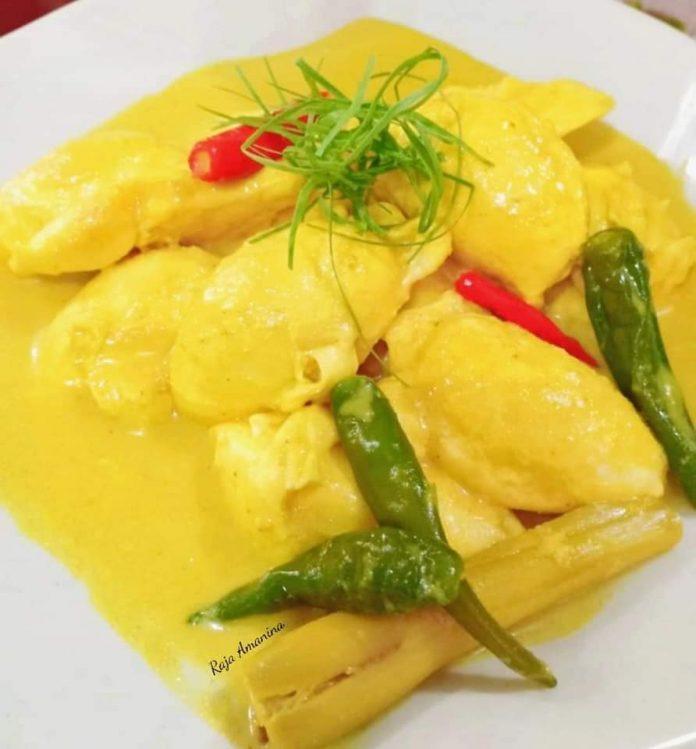 resepi gulai lemak telur itik kelantan 1