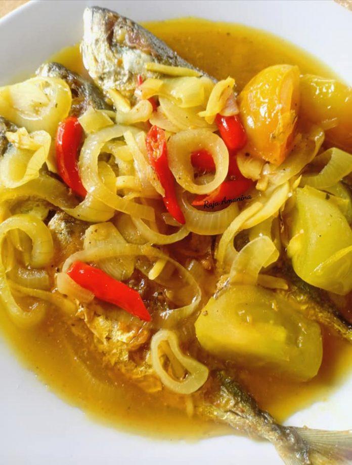 resepi ikan masak cuka simple mudah  sedap rugi  tak cuba guyss kitpramenulis Resepi Ikan Tenggiri Pais Enak dan Mudah