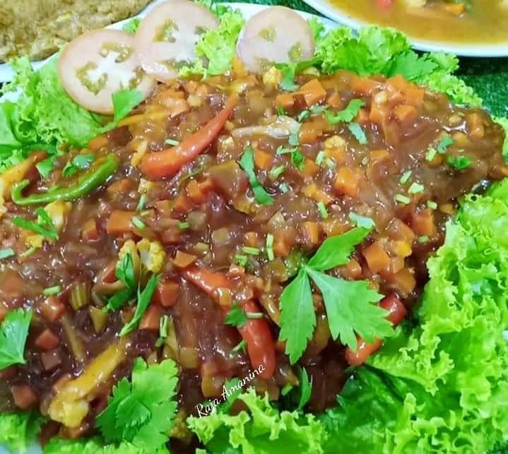 resepi ikan siakap  rasa simple jer gerenti sedap guna cili kering kitpramenulis Resepi Sup Ikan Dowry Enak dan Mudah