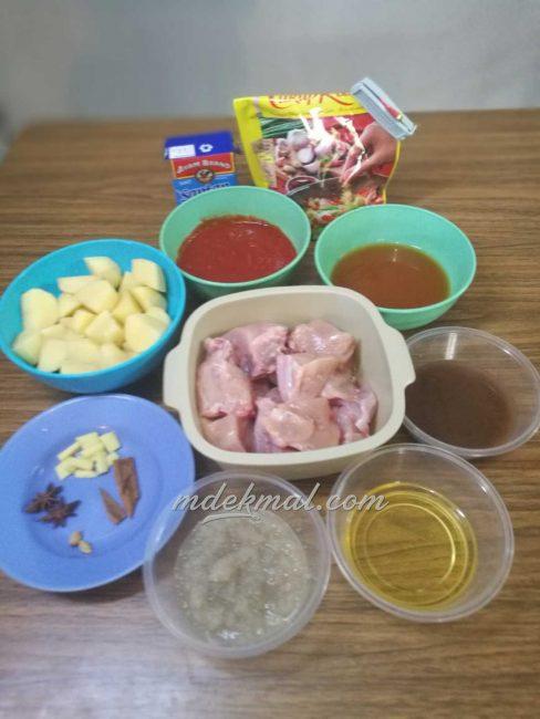 resepi-kari-ayam-sedap-1 Resepi Kari Ayam Sedap. Kuah Memang Kaww Dan Padu Guyss