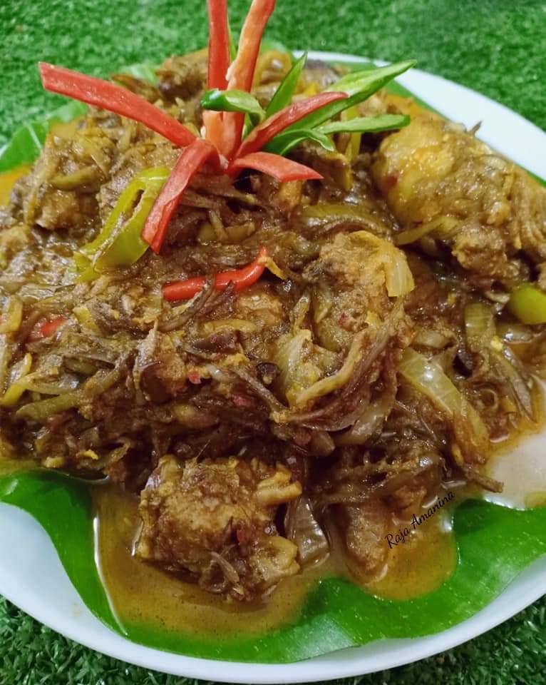 resepi-teresek-jantung-pisang-2 Resepi Teresek Jantung Pisang Kelantan. Sekali Makan Memang Sedak Dooh Bohh