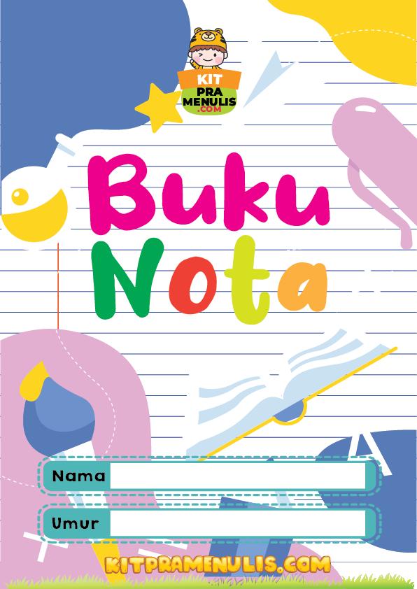 BUKU NOTA KOSONG TEMA TELUR-01