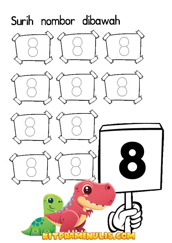 lembaran-kerja-matematik-surih-nombor-tadika-01 Lembaran Kerja Matematik Nombor 1-10 Prasekolah Format PDF