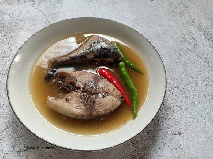 resepi ikan tongkol rebus kelantan 1