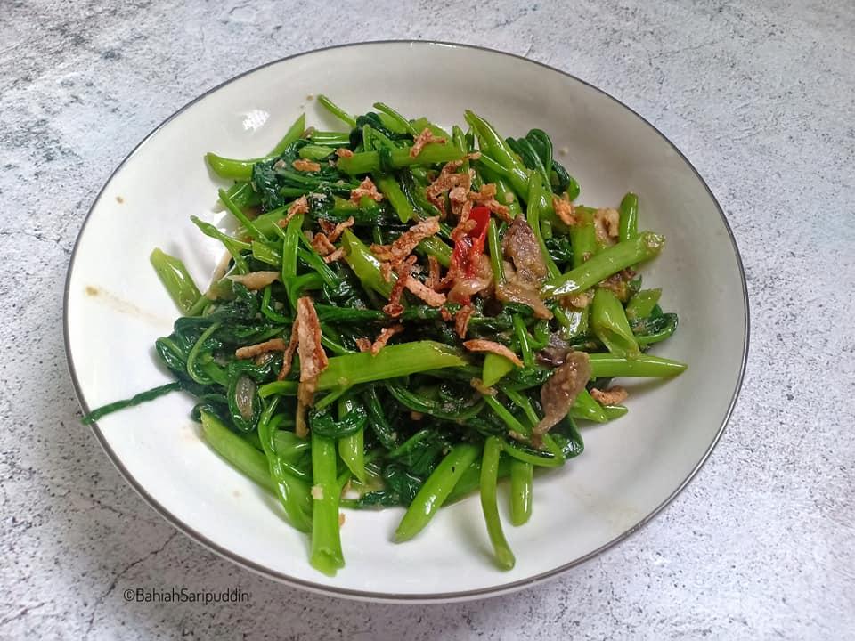 resepi-kangkung-goreng-belacan-sedap-2 Resepi Kangkung Goreng Belacan Sedap. Berselera Bila Makan Dengan Nasi.