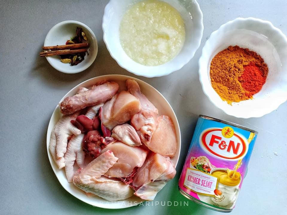 resepi-kari-ayam-guna-susu-cair-1 Resepi Kari Ayam Guna Susu Cair Lain Dari Yang Lain. Kuah Padu Dan Kaw