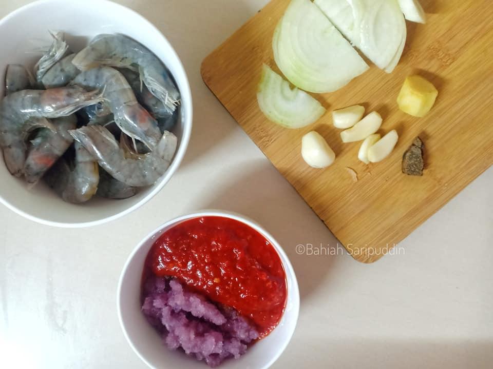 resepi-sambal-udang-sedap-9 Resepi Sambal Udang Sedap Style Pekat. Memang Syok Ratah Apalagi Dengan Nasi
