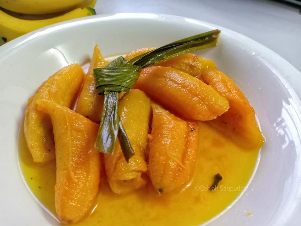 resepi-sira-pisang-kelantan-11 Resepi Sira Pisang Kelantan Sedap Dan Mudah. Memang Sesuai Untuk Pencuci Mulut