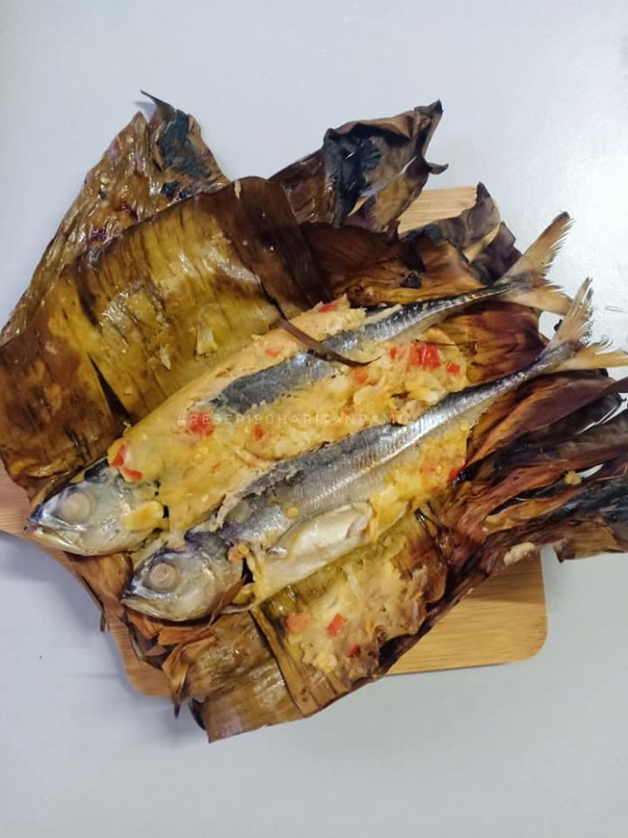 resepi ikan cencaru bakar sumbat tempoyak 7
