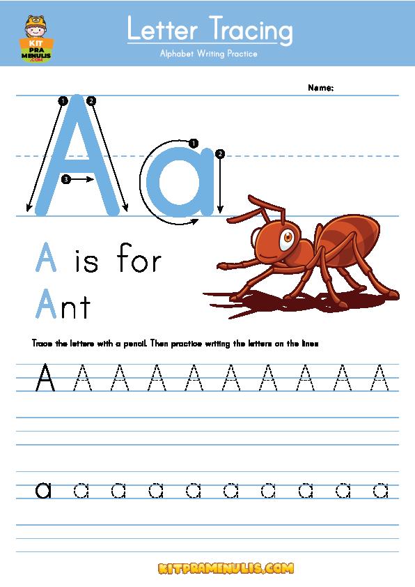 530X350-01 Ebook Prasekolah Bahasa Inggeris PDF Huruf ABC